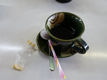 食後のコーヒー
