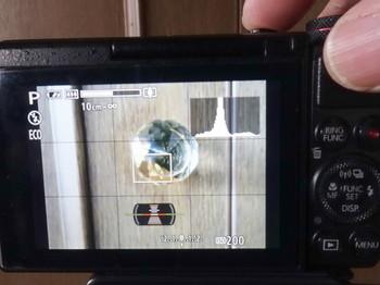 G7Xの撮影時の画面表示