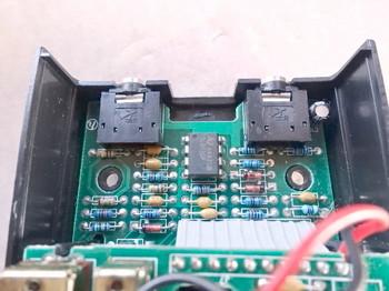 メイン基板にはTL072がある