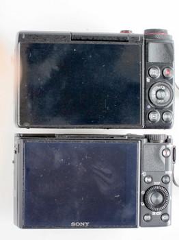 DSC-RX100M3もG7Xも背面はほぼ同じ
