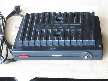 動かないBOSE1702パワーアンプ