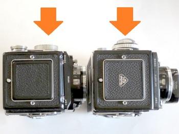 2.8C(左)と2.8F