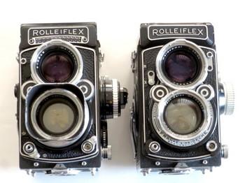 ローライフレックス2.8Fと2.8C