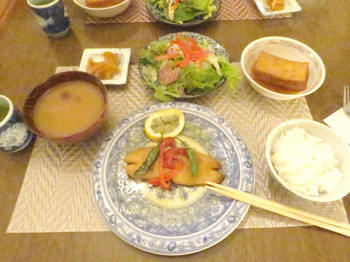 カルペデイムの夕食:まずはお魚