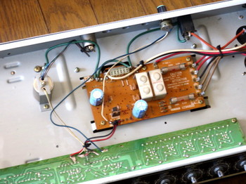 電源回路:コンデンサ交換前
