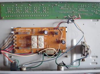 電源回路:コンデンサ交換後