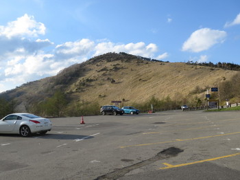 駐車場も既にガラガラ