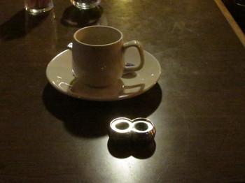 コーヒーと知恵の輪