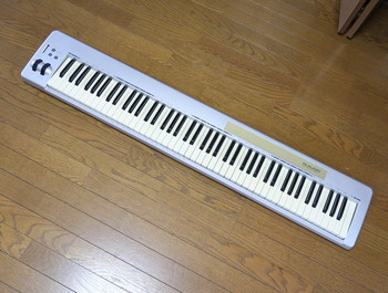 中古のM-AUDIO・keystation 88es
