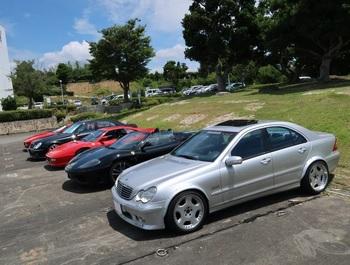 東急リゾートタウン浜名湖に集まった参加車両