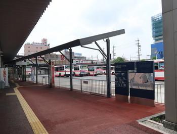 岐阜バスセンター入り口から見たところ