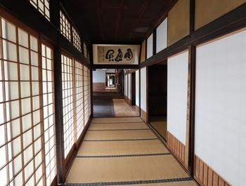 禅昌寺の廊下