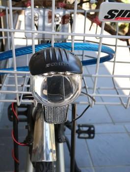 移植したLEDヘッドライト