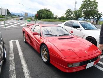 参加車両:フェラーリ テスタロッサ