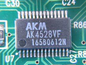 旭化成のAK4528VF