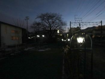 JR伊那北駅西の公園(ストロボ無)