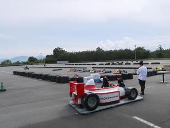 富士スピードウェイのカートコース