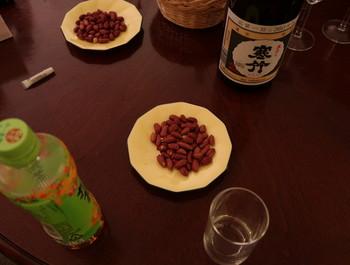 2次会のテーブル