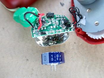 用意した電気二重層コンデンサ