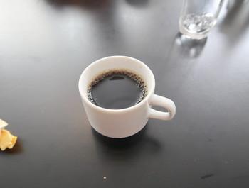 アフターのコーヒー