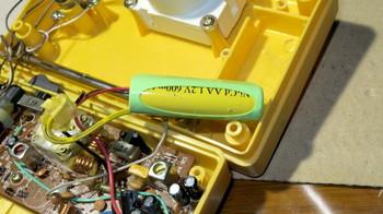 2010年に交換した充電池はニッカド
