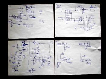 実態配線から作成した回路図