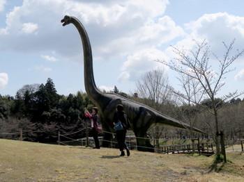 恐竜の大きさはかなりのもの