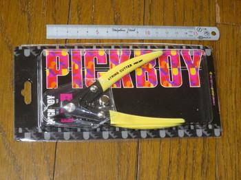 購入したピックボーイのストリングカッターSC-150