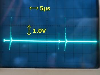 テスト回路の波形
