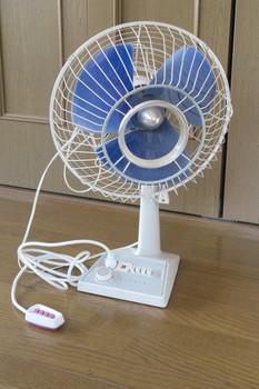 昭和の時代の扇風機