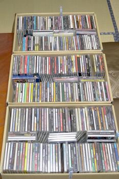 届いた293枚の洋楽CD