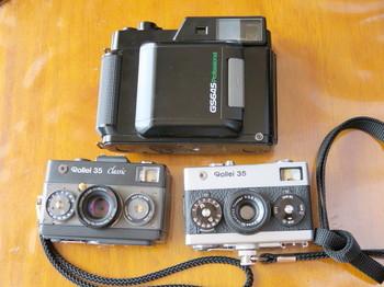 阿寺渓谷で使った「お散歩用カメラ」