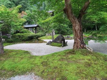 定勝寺の庭
