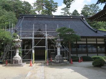 中川村の常泉寺