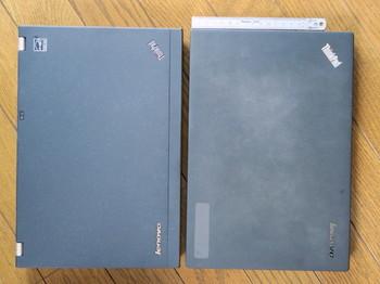 X220とX240はほぼ同寸