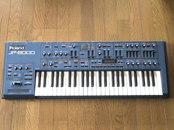 ローランドのシンセサイザーJP-8000