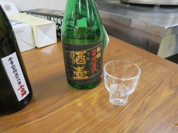 差し入れのお酒・千曲錦と葵鶴酒壺
