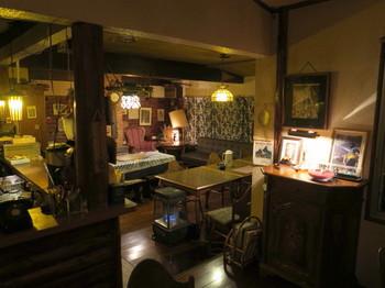 カルペデイムの室内