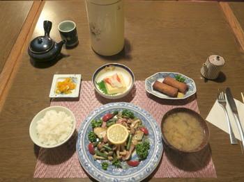 カルペデイムの夕食・魚料理