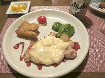 カルペデイムの夕食・肉料理