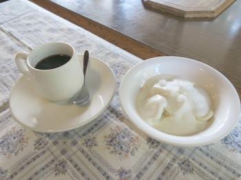カルペデイムの朝食後のデザート