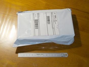 中国から届いた郵便物