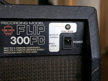 電源スイッチとドライブ・ノーマル表示LED