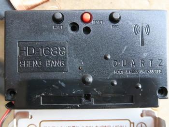 電池ボックス側には複数のスイッチがある