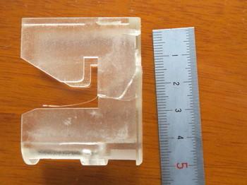 割れた受け側の樹脂部品