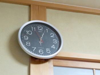 針が変わって一寸オシャレになった掛け時計