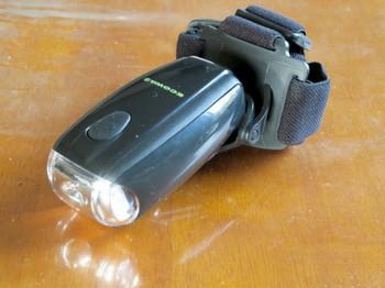 ヤザワ・手回し充電式ledヘッドライト