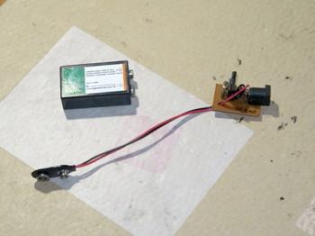 以前作成した9V電池の充電用回路