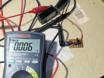 充電電流は6mAしかない