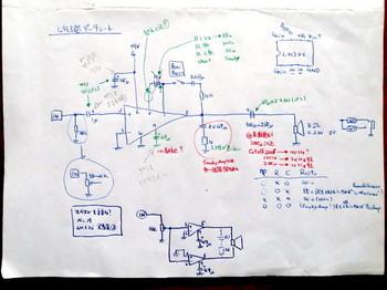 LM386のアンプ回路図